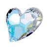Devoted 2U Heart 27mm Aurora Borealis Crystal